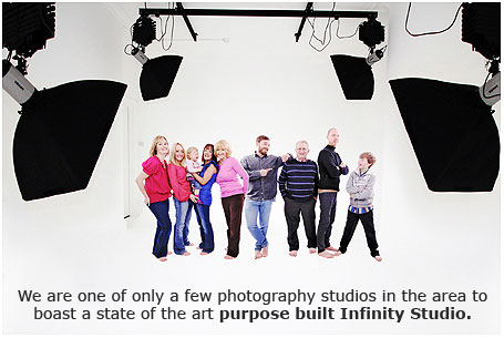 purpose built Infinity Studio